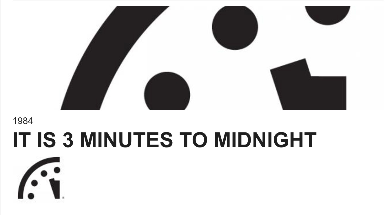 Winter In July The Doomsday Clock Is Ticking It Will Reach Midnight